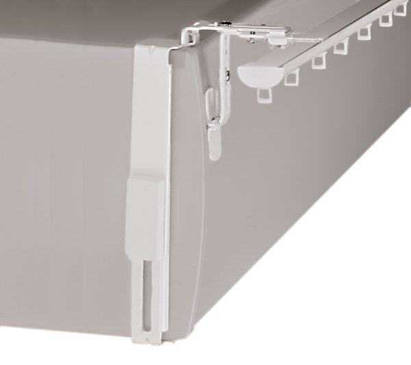 Geko Adaptateur Lateral installé Volet Roulant sans rainure avec rail