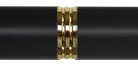 Shinny Brass Black Mat